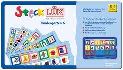 SteckLÜK: Kindergarten 6: Alter 3 - 4 (blau)