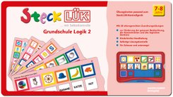 SteckLÜK: Grundschule Logik 2: Alter 7 - 8 (rot)