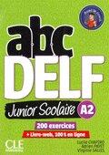 ABC Delf Junior, Nouvelle édition. A2 Schülerbuch + DVD + Livre-web