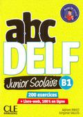 ABC Delf Junior, Nouvelle édition. B1 Schülerbuch + DVD + Livre-web