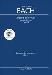 Messe in h-Moll BWV 232, Klavierauszug