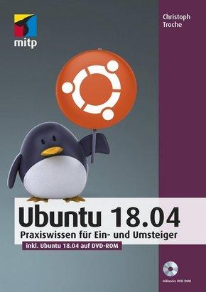 Ubuntu 18.04, m. DVD-ROM