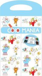 Colomania - Hellblau, m. 24 Buntstiften