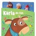 Karla die Kuh, Fingerpuppenbuch m. 3 Fingerpuppen