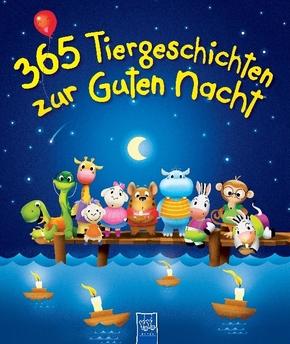365 Tiergeschichten zur guten Nacht