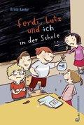 Ferdi, Lutz und ich in der Schule