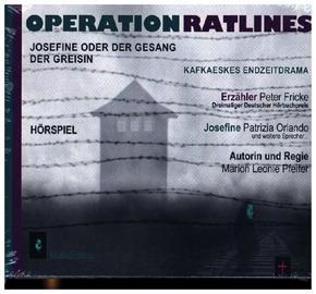 Operation Ratlines, 2 Audio-CDs