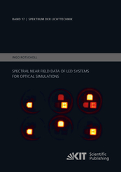 Spectral near field data of LED systems for optical simulations