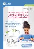 Aufsatztraining mit Lernvideos und Aufsatzwürfeln, m. CD-ROM