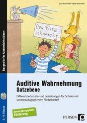 Auditive Wahrnehmung - Satzebene, m. 2 Audio-CDs