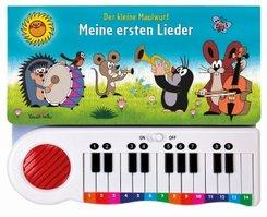 Der kleine Maulwurf - Meine ersten Lieder, m. Klaviertastatur