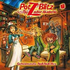 Potz Blitz - Die Zauber-Akademie - Geheimstufe Null-Null-Hex, 1 Audio-CD