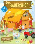 Der Bauernhof 3D - Buch und Modell zum aufbauen