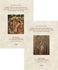 Corpus der mittelalterlichen Holzskulptur und Tafelmalerei in Schleswig-Holstein: Landesteil Schleswig. Die Kirchen von A bis L; 4