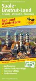 PUBLICPRESS Rad- und Wanderkarte Saale-Unstrut-Land, Freyburg - Weißenfels - Naumburg