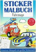 Stickermalbuch Fahrzeuge