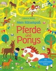 Mein Rätselspaß: Pferde und Ponys