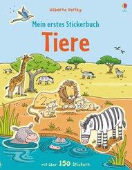 Mein erstes Stickerbuch: Tiere