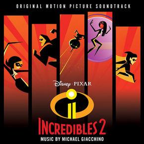 Incredibles, 1 Audio-CD (Soundtrack) - Vol.2