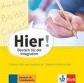 Hier! - Deutsch für die Integration: Vorkurs für Zweitschriftlernende, 3 Audio-CDs