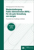 Masterstudiengang Public Administration (MPA)