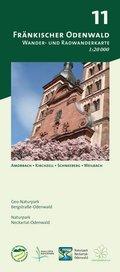 Odenwald Freizeitkarte Fränkischer Odenwald