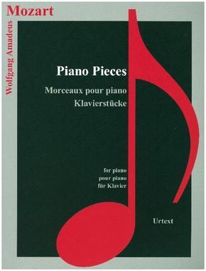 Wolfgang Amadeus Mozart - Klavierstücke