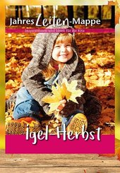 JahresZeiten-Mappe - Igel-Herbst