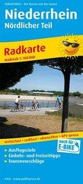 PublicPress Radkarte Niederrhein - Nördlicher Teil
