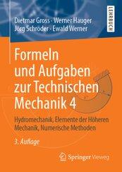 Formeln und Aufgaben zur Technischen Mechanik - Bd.4