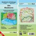 NaturNavi Wanderkarte mit Radwegen Ulm - Blaubeuren