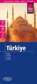 Reise Know-How Landkarte Türkei / Turkey (1:1.100.000)