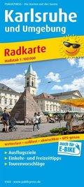 PublicPress Radkarte Karlsruhe und Umgebung