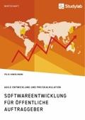Softwareentwicklung für öffentliche Auftraggeber. Agile Entwicklung und Preiskalkulation