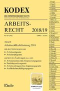 KODEX Arbeitsrecht 2018/19 (f. Österreich)
