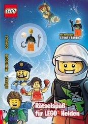 LEGO® - Rätselspaß für LEGO® Helden, m. Minifigur