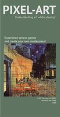 Pixel-Art, Café Terrace at Night (Spiel)