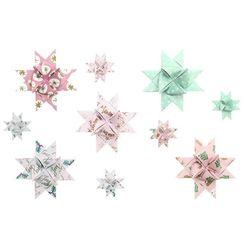 Fröbelsterne, Jolly Christmas, Pastell