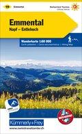Kümmerly & Frey Karte Emmental, Napf, Entlebuch