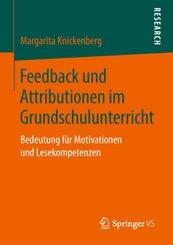 Feedback und Attributionen im Grundschulunterricht