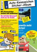 Das KFZ-Kennzeichen Sticker-Sammelalbum