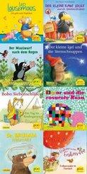 Pixi Bücher: Pixi-Box 254: Die beliebtesten Bilderbuch-Helden bei Pixi (8x8 Exemplare), 64 Teile. (64 Expl. (8 Titel))