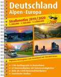 PUBLICPRESS Straßenatlas Deutschland, Alpen, Europa 2019 / 2020