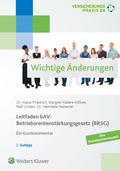 Leitfaden bAV: Betriebsrentenstärkungsgesetz (BRSG)