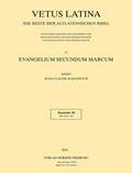 Vetus Latina: Evangelium secundum Marcum; .17/10 - Fasc.10