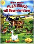Mein erstes Puzzlebuch mit Bauernhoftieren