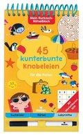 45 kunterbunte Knobeleien für die Ferien