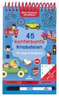45 kunterbunte Knobeleien für lange Autofahrten