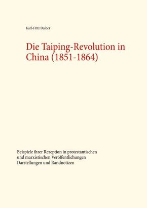 Die Taiping-Revolution in China (1851-1864)
