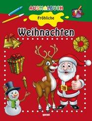 Ausmalbuch Fröhliche Weihnachten